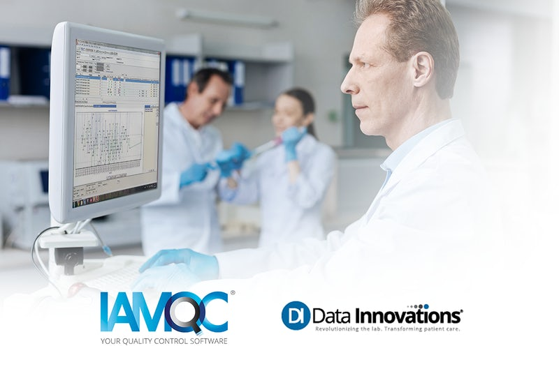 Technopath Clinical Diagnostics and Data Innovations announce partnership to deliver IAMQC® data management solutions with market-leading lab enablement solution Instrument Manager.