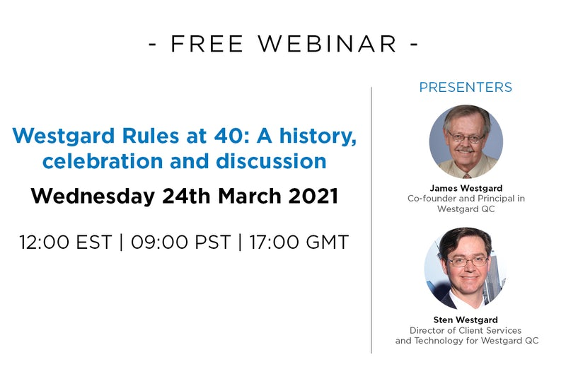 Westgard Rules at 40: A history, celebration and discussion