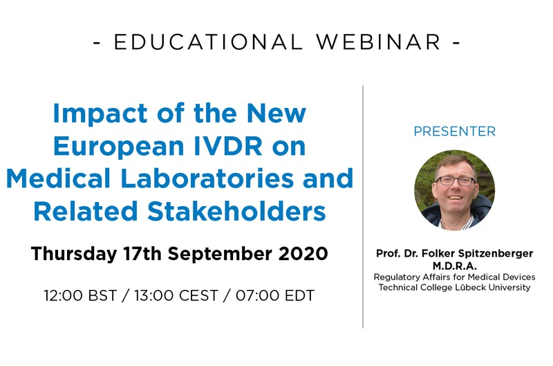 Impact of the new European IVDR on medical laboratories and related stakeholders