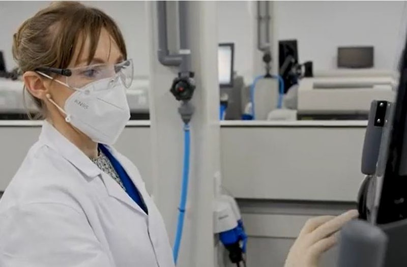 Technologist works in QC laboratory at Technopath Clinical Diagnostics