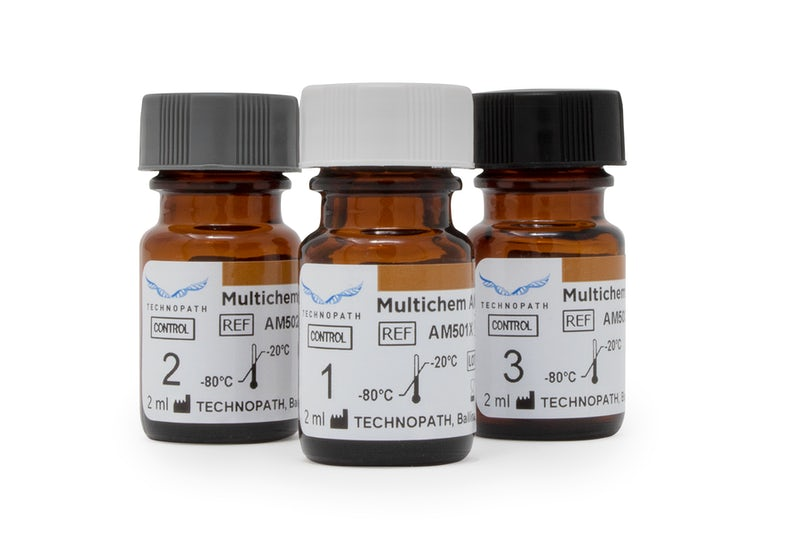 Multichem D-Dimer third-party coagulation QC