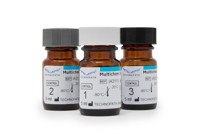 Multichem IA third-party immunoassay quality control