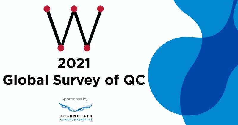 The Westgard 2021 Global Survey of QC