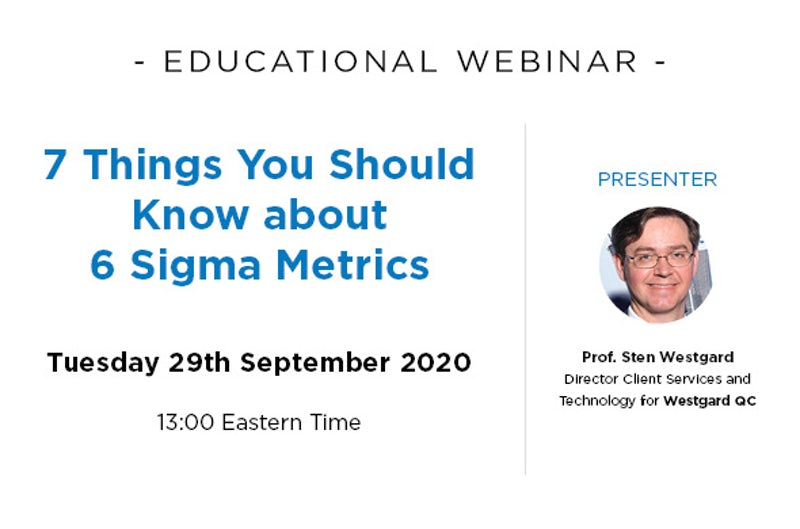 7 Things You Should Know about 6 Sigma Metrics